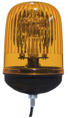 ROTATING BEACON 24V SINGLE BOLT M12