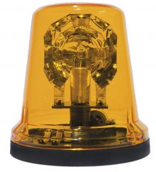 ROTATING BEACON 12V FLAT BASE / SURFACE MOUNTING