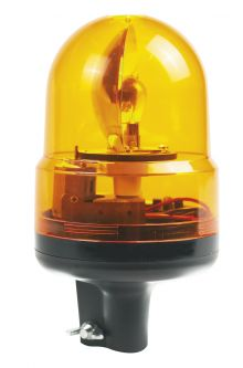 ROTATING BEACON 24V FASTENING ON TUBE
