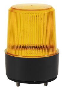 LED FLASHING BEACON 10-30V FLAT BASE / SURFACE MOUNTING