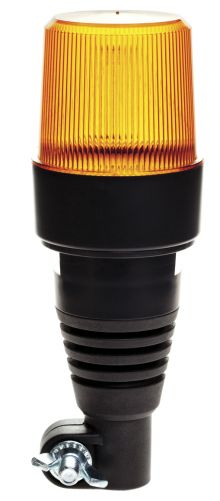 LED FLASHING BEACON 10-30V FLEXIBLE BASE / FASTENING ON TUBE