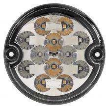 FEU AVANT LED 2 FONCTION 9-33V AVEC BASE