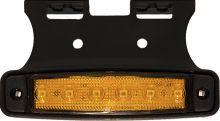 LED SIDE MARKER LAMP 12V OR 24V WITHE ANGLED BRACKET